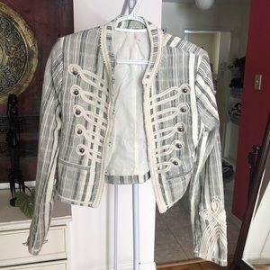 Free people - Ivy embroidered jacket